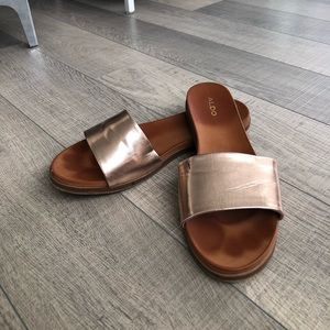 Rose Gold Also Sandals